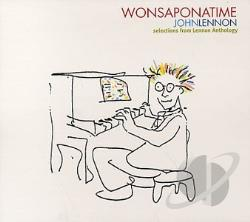 Lennon, John - Wonsaponatime CD Cover Art