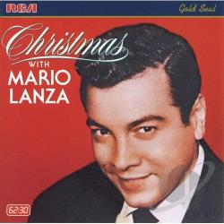Lanza, Mario - Christmas with Mario Lanza CD Cover Art