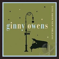 Owens, Ginny - Live from New Orleans CD Cover Art