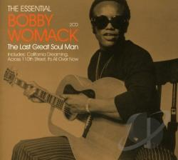 Womack, Bobby - Essential Bobby Womack: The Last Great Soul Man CD Cover Art