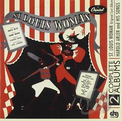Arlen, Harold / Original Broadway Cast - St. Louis Woman CD Cover Art