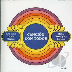 Gomez, Armando Tejada - Cancion Con Todos CD Cover Art