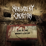 Malevolent Creation - Live at the Whiskey a Go Go CD Cover Art