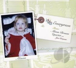 Brown, Alison - Evergreen CD Cover Art