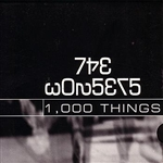 Wonsers - 1,000 Things CD Cover Art