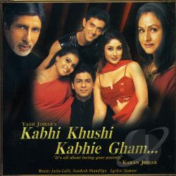 Original Soundtrack / Various Artists - Kabhi Khushi Kabhie Gham CD Cover Art