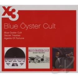 Blue Oyster Cult - Blue Oyster Cult/Secret Treaties/Agents CD Cover Art