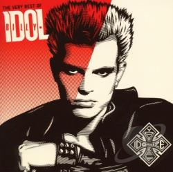 Idol, Billy - Very Best of Billy Idol: Idolize Yourself CD Cover Art