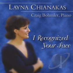 Chianakas, Layna - I Recognized Your Face CD Cover Art