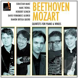 Alonso / Manz / Qu / Schuch / Trenel - Beethoven, Mozart: Quintets for piano & winds CD Cover Art