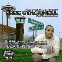 dj roc phella - Free Stackwell... The Compilation CD Cover Art