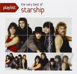 Starship - Playlist: The Very Best of Starship CD Cover Art
