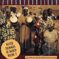 Abdulai, Alhaji Ibrahim - Master Drummers Of Dagbon Vol. 2 CD Cover Art