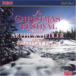Fiedler, Arthur - Christmas Festival CD Cover Art