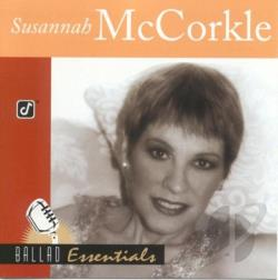 Mccorkle, Susannah - Ballad Essentials CD Cover Art