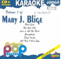 Blige, Mary J. - Karaoke: Mary J Blige CD Cover Art