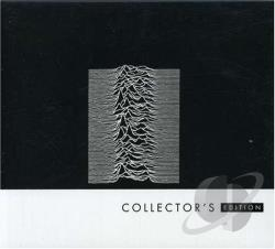 Joy Division - Unknown Pleasures CD Cover Art