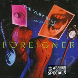 Foreigner - Very Best...And Beyond CD Cover Art