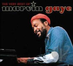 Gaye, Marvin - Very Best of Marvin Gaye CD Cover Art