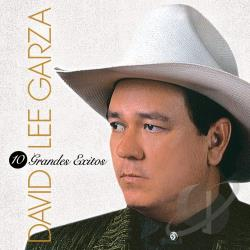 Garza, David Lee - 10 Grandes Exitos CD Cover Art