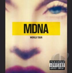 Madonna - MDNA World Tour CD Cover Art
