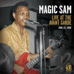 Magic Sam - Live at the Avant Garde CD Cover Art