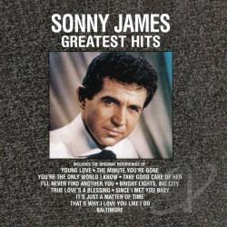 James, Sonny - Greatest Hits CD Cover Art