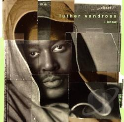 Vandross, Luther - I Know CD Cover Art