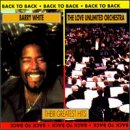 Love Unlimited Orchestra / White, Barry - Back to Back: Their Greatest Hits CD Cover Art
