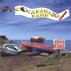 Cocabanana Band Live! - Boats For Sale CD Cover Art