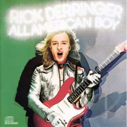 Derringer, Rick - All American Boy CD Cover Art