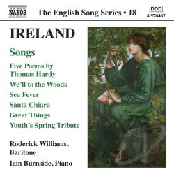 Burnside / Ireland / Williams - Ireland: Songs CD Cover Art