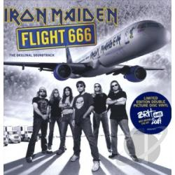 Iron Maiden - Flight 666 LP Cover Art