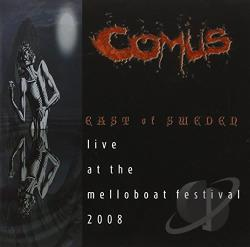 Comus - East of Sweden: Live at the Melloboat Festival 2008 CD Cover Art