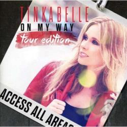 Tinkabelle - On My Way CD Cover Art