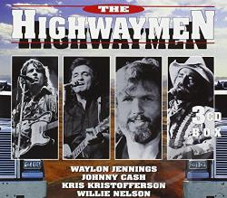 Cash, Johnny / Highwaymen / Jennings, Waylon / Kristofferson, Kris / Nelson, Willie - Highwaymen CD Cover Art