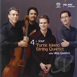 Turtle Island String Quartet / Ying Quartet - 4 + Four CD Cover Art