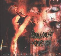 Malevolent Creation - Manifest CD Cover Art