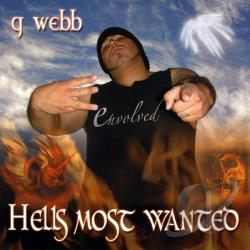 G Webb - Hell's Most Wanted CD Cover Art