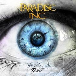 Paradise Inc. (Metal) - Time CD Cover Art