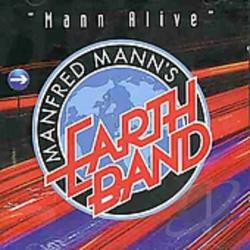 Mann, Manfred - Mann Alive CD Cover Art