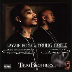 Layzie Bone - Thug Brothers CD Cover Art