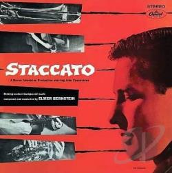 Bernstein, Elmer - Staccato / Paris Swings CD Cover Art