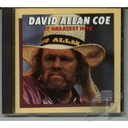 Coe, David Allan - 17 Greatest Hits CD Cover Art