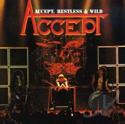 Accept - Restless & Wild CD Cover Art