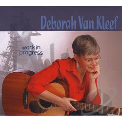 Van Kleef, Deborah - Work In Progress CD Cover Art