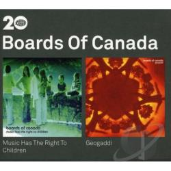 Boards Of Canada - Music Has The Right/Geogaddi CD Cover Art