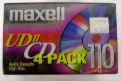 Maxell - Udii-CD 110 4 Pack Cover Art