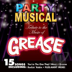 Party Musical:Tribute To Grease CD Cover Art