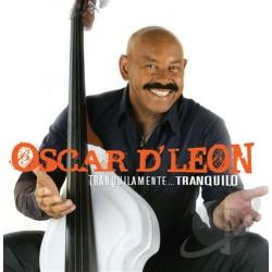 D'Leon, Oscar - Tranquilamente CD Cover Art
